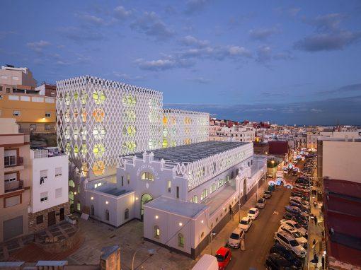 Ángel Verdasco – Reconversión del antiguo mercado central de Melilla en Conservatorio de Música, Escuela de Idiomas y Centro de Educación de Adultos