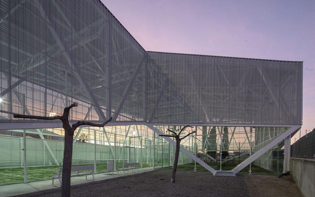 Non Arquitectura – Cubrimiento y reforma de pistas de pádel en la Universidad de Jaén