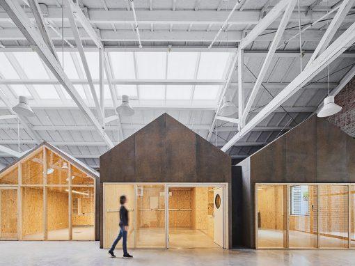 Oliveras Boix Arquitectes – Ateneu de Fabricació de Gràcia (Barcelona)