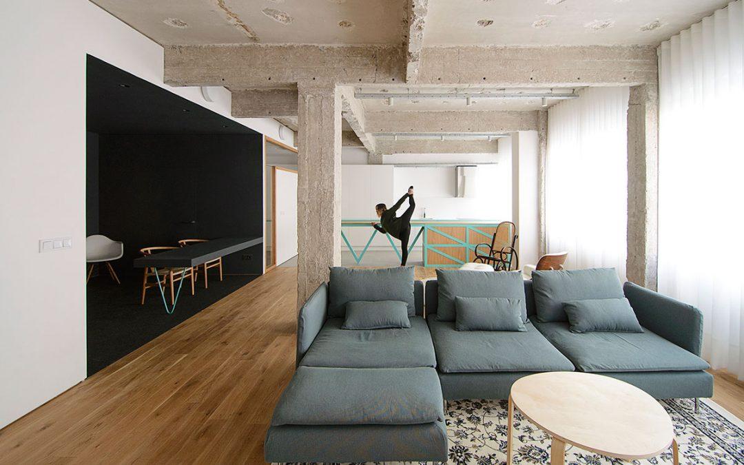 Garmendia Cordero Arquitectos – Reconversión de oficinas en vivienda en Bilbao