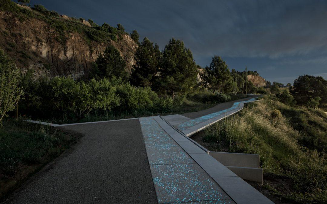 Batlle i Roig Arquitectura – Camino Mirador a las antiguas minas de yeso de Igualada (Barcelona)