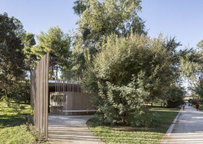 VERSEA ARQUITECTURA – Aseos Públicos en el Jardín del Turia (Valencia)