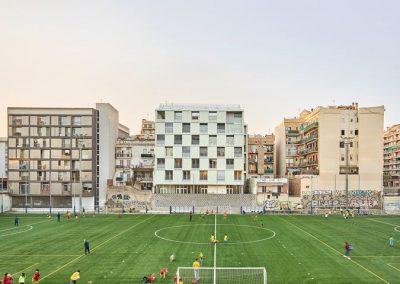 ARQUITECTURA PRODUCCIONS – PAU VIDAL – VIVAS ARQUITECTOS – calle Alibei 100-102 de Barcelona